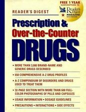 Prescription and Over-the-Counter Drugs by Reader's Digest Editors (1998, Hardco