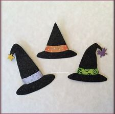 Halloween Witch Hat Metal Magnets Set of 3 by Roeda® Free U.S. Shipping