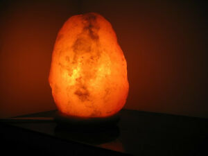 Black Tai Salt Co. brand Authentic Himalayan Salt Lamp  6 pack EACH 6-8 Lbs