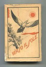 Sacerdote Giuseppe Zaffonato # VERSO IL SOLE # 1942 Libro Riflessioni Giovani