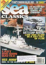 SEA CLASSICS V32 N10 USN BB SPOTTER PLANE_USS BORIE vs U-405_WW2 SURIGAO STRAIT