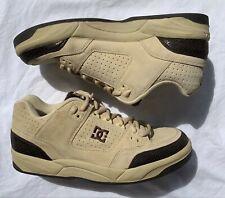 New listing Vintage DC Skateboards Gamma Model SE Tan Snakeskin Shoes Sneakers Men's 12