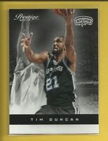 Tim Duncan 2012-13 Panini Prestige Card # 40 San Antonio Spurs Basketball
