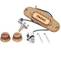 3 Pole Prewired Guitar Single Coil Pickup for 3 String Cigar Box Guitar