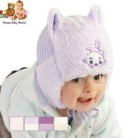 Girls / Baby Girl hat WINTER -  NEW size 0 - 12 months! GREAT QUALITY!
