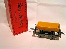 TRAINS HORNBY / HACHETTE ech/scale O 1/43 - WAGON BENNE A BASCULE + Boîte