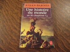 le livre de poche une histoire du monde en 10 chapitre 1/2 - julian barnes