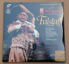 Falstaff VERDI - Royal Opera Covent Garden - Oper in 3 Akten - PAL LaserDisc OVP