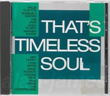Timeless Records THAT'S TIMELESS SOUL 1987 Germany CD OOP