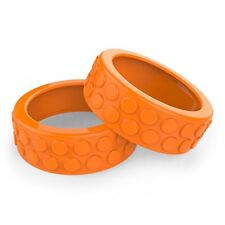 Sphero Ollie Nubby Tires for Robotic Cylindrical Ball (Orange)