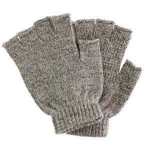 New Grand Sierra Men's Raggwool Fingerless Gloves