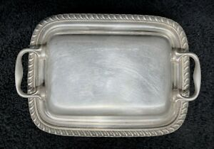 Vintage Burche Silver EPOC Covered Butter Dish Plate No. 505