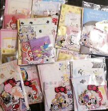 Kawaii Stationery Lot Grab Bag Memos Sticker Flakes Letter Set Paper 1