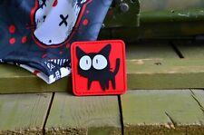 Black cats PVC tactical Morale Patch
