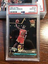 1992-93 Ultra Michael Jordan NBA Jam Session #216 PSA 10 GEM MINT