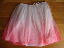 Jupe neuve voile rose et blanc doublée GAP KIDS - 12 / 14 ans