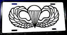 Novelty License Plate Military Army Airborne New Aluminum Auto Tag made in USA