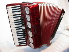 SCANDALLI Polifonico, 120 Bass, Akkordeon, Koffer, Gurte, accordion, acordeon