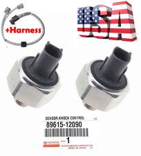 OEM DENSO Knock Sensor 89615-12090 & Harness for TOYOTA LEXUS Avalon Camry ES300