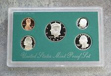 1997 United States US Mint 5pc Clad Coin Proof Set