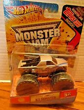ICE MONSTER Hot Wheels MONSTER JAM 2012 with TOPPS Card 30th Ann. 1st Edition