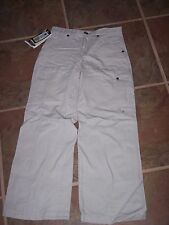 Boy's Cargo pants,Youth sz 8,tan,NWT Columbia,canvas,school,casual