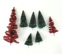 Replacement TREES Department 56 North Star Commuter Train Station North Pole