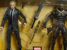 TARGET EXCLUSIVE MARVEL LEGENDS KILLMONGER - AGENT ROSS 2 Pack MIP avengers two