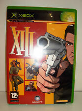 JEU XBOX - XIII COMPLET