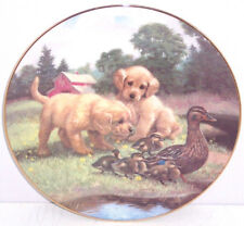 Dogs Ducks Farmyard Collector Plate Follow the Leader Hamilton Animals