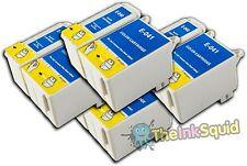 4 Juegos t040/t041 Compatible no-OEM Cartuchos De Tinta Para Epson Stylus C62 cx3250