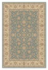 Faded Soft Blue Beige Ziegler Afghan Des QUALITY NATURAL Wool Rug 160x230cm -50%