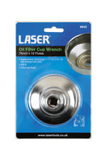Laser Tools 6842 Oil Filter Cup Wrench 76mm x 15 Flutes - Some Kuga - Mazda
