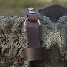Handmade Leather Axe Carry Loop Forest Hatchet Bushcraft Sheath Wilderness Camp