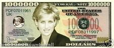Princess Diana Signature Dollar Bill Bank Note Englands Rose Candle in the Wind