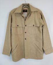 New listing Vintage De Long Sportwear Mt. Jefferson Woolens Beige 100% Wool Jacket Coat M