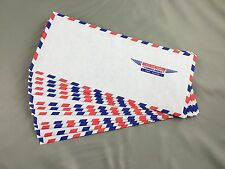 Vintage Air Mail Par Avion Envelopes Lot Of 25 Size 10 Scrapbooking Unused New
