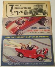 Model Car Science Magazine, July 1965, 1/24 1/32 Slot Cars, James Bond DB5