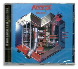 Accept - Metal Heart [Remastered Edition - CD - New IN Foil]