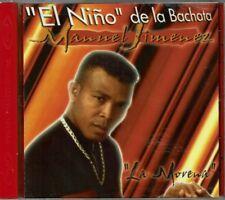 Manuel Jimenez  El Nino de la Bachata La Morena   BRAND  NEW SEALED  CD