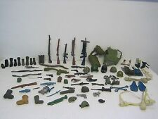 Mega Lot of GI Joe/US Military Action Figure Accessories-Roughly 80 Items Total