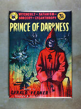 Prince of Darkness Magnet - 1960 Book Cover Art Sorcery Lycanthropy Satanism