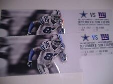 2013 DALLAS COWBOYS VS NEW YORK GIANTS TICKET STUB 9/8/13 JASON WITTEN