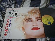 a941981 Madonna Japan Who's That Girl Original Soundtrack Promo LP Made in Japan