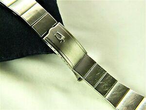 Vintage Men's DUCHESS Bulova Accutron Stainless Steel Watch Band- 20mm ends
