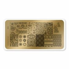 """Color Club Nail Art Stamping Plate """"India"""""""
