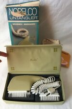 Vintage Norelco Hair Untangler Head Massager Brushes HP4416 Treats Dandruff