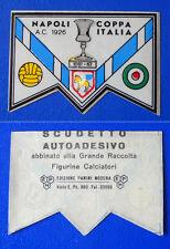 RARA FIGURINA CALCIATORI PANINI 1965/66 - SCUDETTO - NAPOLI COPPA ITALIA - new