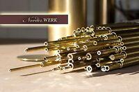 Modellbau Messing Rohr dickwandig nahtlos MS63 - verschiedene Ø - große Auswahl
