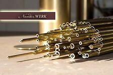 Modellbau Messing Rohr dickwandig nahtlos MS63 - verschiedene Ø - Auswahl